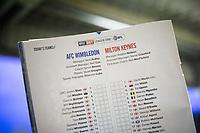 170314 AFC Wimbledon v Milton Keynes Dons