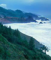 769550010v view of the oregon coast and the pacific ocean along the coastal highway at the north end of samuel boardman state park in central oregon