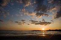 Sunset at Bailey's Beach, Newport
