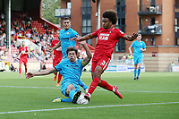 O's Joe Widdowson & Craig Robson during Leyton Orient vs Barnet, Vanarama National League Football at The Breyer Group Stadium on 15th September 2018