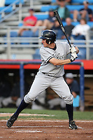 September 9 2008:  Jack Rye of the Staten Island Yankees, Class-A affiliate of the NY Yankees, during Game One of the opening playoff series at Russell Diethrick Park in Jamestown, NY.  Photo by:  Mike Janes/Four Seam Images