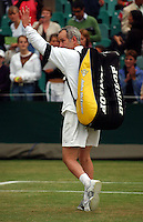 WIMBLEDON CHAMPIONSHIPS 02/07/2005<br />