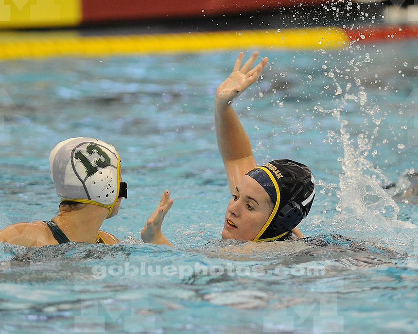 The University of Michigan water polo team beat Sienna, 14-4, at Canham Natatorium in Ann Arbor, Mich., on March 17, 2012.