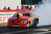 Sept. 2, 2011; Claremont, IN, USA: NHRA pro stock driver Dave River during qualifying for the US Nationals at Lucas Oil Raceway. Mandatory Credit: Mark J. Rebilas-