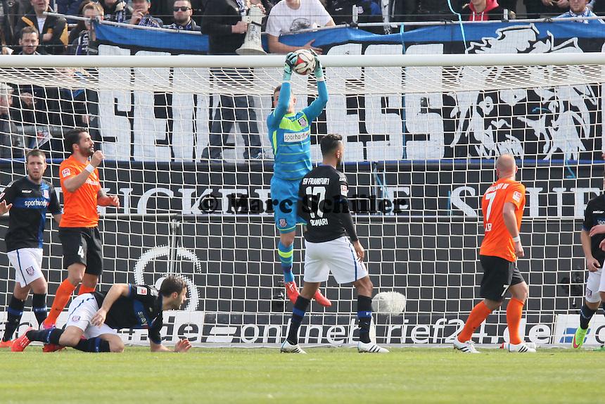 Patric Klandt (FSV) haelt - FSV Frankfurt vs. SV Darmstadt 98, Frankfurter Volksbank Stadion