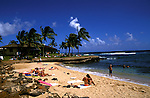 Hawaii: Kauai, at Lawai Beach.  Photo hifree119.Photo copyright Lee Foster, 510/549-2202, lee@fostertravel.com, www.fostertravel.com