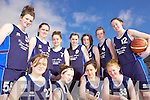 Listowel Presentation Basketball team. F l-r: Hazel Neill, Niamh Duffy, Mairead Walsh, Mairead McNamara. B l-r: Amy Browne, Aoife Shine, Courtney Neill, Olivia Quirke-McFarlane, Martina Guiney, Aoife Kennelly and Sarah Kerins.
