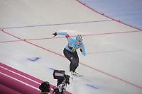 SPEEDSKATING: HAMAR: Vikingskipet, 28-02-2020, ISU World Speed Skating Championships, Sprint, 500m Ladies, Stien Vanhoutte (BEL), ©photo Martin de Jong