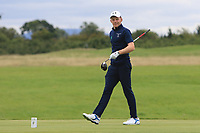 John Murphy of Team Ireland on the 5th tee during Round 3 of the WATC 2018 - Eisenhower Trophy at Carton House, Maynooth, Co. Kildare on Friday 7th September 2018.<br /> Picture:  Thos Caffrey / www.golffile.ie<br /> <br /> All photo usage must carry mandatory copyright credit (&copy; Golffile | Thos Caffrey)