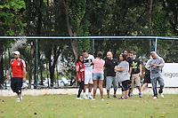 """ATENÇÃO EDITOR: FOTO EMBARGADA PARA VEÍCULOS INTERNACIONAIS. - SAO PAULO)21 de dezembro 2012.(JOGO DO BEM).A segunda edição do amistoso beneficente """"Amigos do Bem"""", promovido pelo volante Guilherme, do Corinthians. Ralf, companheiros de Guilherme no clube de Parque São Jorge, já confirmaram presença na partida, que começa às 11h deste sábado (22) em São Caetano do Sul, no Grande ABC..  ADRIANO LIMA / BRAZIL PHOTO PRESS)."""