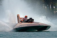 "Steve Compton, U-60 ""Miss Thriftway of Washington State""(replica of 1955 Allison powered Ted Jones hull)"