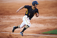 Bradenton Marauders third baseman Connor Joe (6) running the bases during a game against the Palm Beach Cardinals on August 8, 2016 at McKechnie Field in Bradenton, Florida.  Bradenton defeated Palm Beach 5-4.  (Mike Janes/Four Seam Images)