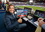 Marco Negri back at Ibrox for commentary