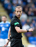 St Johnstone v Aberdeen&hellip;15.09.18&hellip;   McDiarmid Park     SPFL<br />Referee Willie Collum<br />Picture by Graeme Hart. <br />Copyright Perthshire Picture Agency<br />Tel: 01738 623350  Mobile: 07990 594431