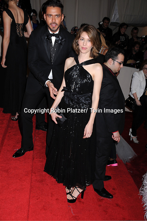 """Sofia Coppola arriving at The Costume Institute Gala Benefit celebriting """"Alexander McQueen: Savage Beauty"""" at The Metropolitan Museum of Art in New York City on May 2, 2011."""