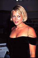 """©KATHY HUTCHINS/HUTCHINS.""""FALL"""" PREMIERE  6/26/97  LA,CA.AMANDA DE CADENET"""
