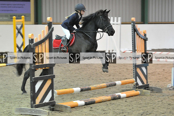 Class 2. Unaffiliated showjumping. Brook Farm Training Centre. Essex. UK. 06/01/2019. ~ MANDATORY Credit Garry Bowden/Sportinpictures - NO UNAUTHORISED USE - 07837 394578