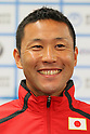Hirokatsu Tayama (JPN), June, 2012 - Triathlon : Japanese Triathlon  team member ateend press conference about the London 2012 Summer Olympic Games in Tokyo, Japan. (Photo by Yusuke Nakanishi/AFLO SPORT) [1090]