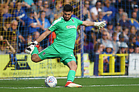 Tom King of AFC Wimbledon during AFC Wimbledon vs Scunthorpe United, Sky Bet EFL League 1 Football at the Cherry Red Records Stadium on 15th September 2018