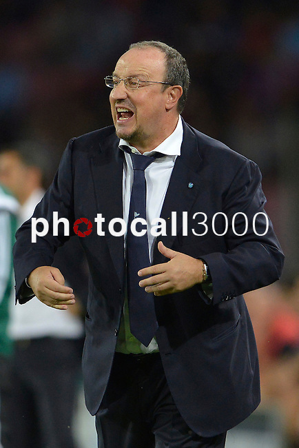 Rafael Benitez of Napoli gestures during the match between SSC Napoli and Athletic Club Bilbao, play-offs First leg Champions League at the San Paolo Stadium onTuesday August 19, 2014 in Napoli, Italy. (Photo by Marco Iorio)<br /><br /><br /> <br /><br /><br /><br /><br /><br /><br /><br /><br /><br /><br /><br /><br /><br /><br /><br /><br /><br /><br /><br /><br /><br /><br /><br /><br /><br /><br /><br /><br /><br /><br /><br /><br /><br /><br /><br /><br /><br /><br /><br /><br /><br /><br /><br /><br /><br /><br /><br /><br /><br /><br /><br /><br /><br /><br /><br /><br /><br />)