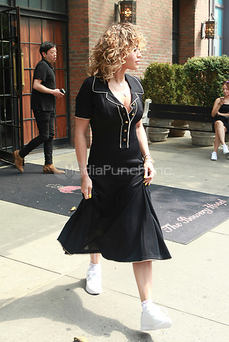 NEW YORK, NY - JULY 17: Rita Ora seen on July 17, 2017 in New York City. Credit: DC/Media Punch