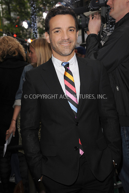 WWW.ACEPIXS.COM . . . . . .April 30, 2012...New York City....George Kotsiopoulos arriving to attend the E! 2012 Upfront at Gotham Hall on April 30, 2012  in New York City ....Please byline: KRISTIN CALLAHAN - ACEPIXS.COM.. . . . . . ..Ace Pictures, Inc: ..tel: (212) 243 8787 or (646) 769 0430..e-mail: info@acepixs.com..web: http://www.acepixs.com .
