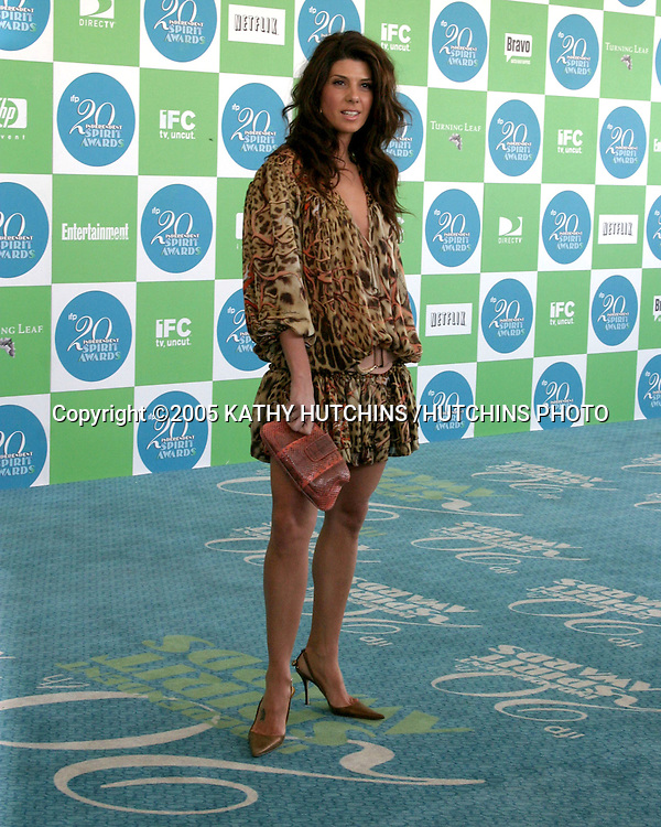 MARISA TOMEI.20th Independent Spirit Awards.Santa Monica Beach.Santa Monica, CA .February 26, 2005.©2005 KATHY HUTCHINS /HUTCHINS PHOTO...