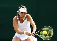 The Championships Wimbledon 2014 - The All England Lawn Tennis Club -  London - UK -  ATP - ITF - WTA-2014  - Grand Slam - Great Britain -  27th.June 2014. <br /> BELINDA BENCIC (SUI)<br /> <br /> © J.Hasenkopf / Tennis Photo Network