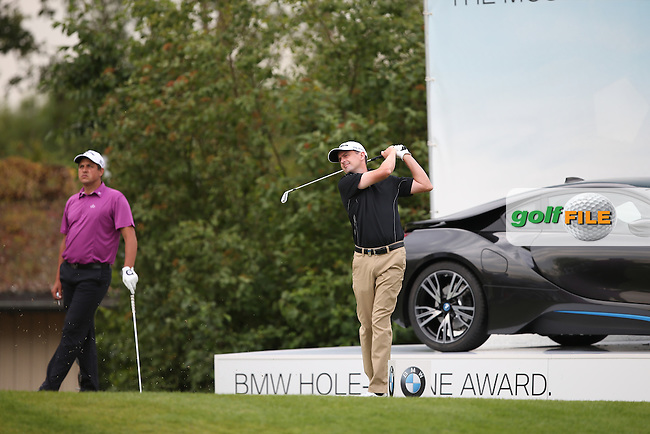Peter Lawrie (IRL) on the 16th tee during Round Two of the BMW International Open 2014 from Golf Club Gut Lärchenhof, Pulheim, Köln, Germany. Picture:  David Lloyd / www.golffile.ie