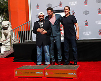 LOS ANGELES - OCT 14:  Kevin Smith, Ben Affleck, Jason Mewes at the Kevin Smith And Jason Mewes Hand And Footprint Ceremony at the TCL Chinese Theater on October 14, 2019 in Los Angeles, CA