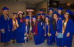 Nursing school graduates before the TMCC Graduation held at Lawlor Events Center in Reno, Nevada on Friday, May 11, 2018.