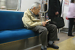 Apr 6, 2010 - Tokyo, Japan - Japanese Alzheimer's disease patient is going The University of Tokyo Hospital on April 6, 2010. Recent investigations in the rural areas revealed that Alzheimer's disease in Japan occurred in about 3.5% of individuals aged 65 or more. An estimated 1 million Japanese have Alzheimer's disease today, according to the World Health Organization.