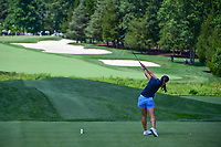 In Gee Chun (KOR) watches her tee shot on 2 during Saturday's third round of the 72nd U.S. Women's Open Championship, at Trump National Golf Club, Bedminster, New Jersey. 7/15/2017.<br /> Picture: Golffile | Ken Murray<br /> <br /> <br /> All photo usage must carry mandatory copyright credit (&copy; Golffile | Ken Murray)