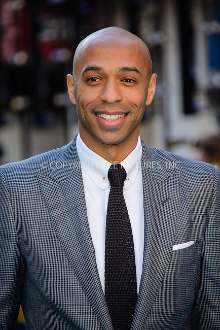 WWW.ACEPIXS.COM<br /> <br /> June 9 2015, London<br /> <br /> Thierry Henry arriving at The European Premiere of Entourage at the Vie West End on June 9 2015 in London<br /> <br /> By Line: Famous/ACE Pictures<br /> <br /> <br /> ACE Pictures, Inc.<br /> tel: 646 769 0430<br /> Email: info@acepixs.com<br /> www.acepixs.com