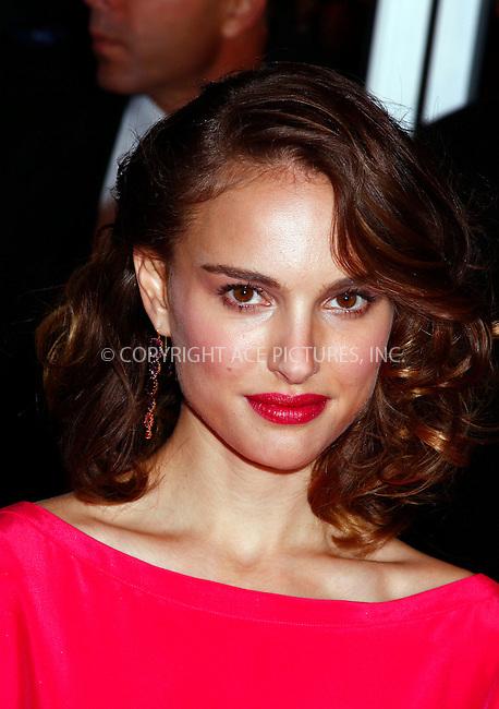 WWW.ACEPIXS.COM . . . . .  ....November 11 2007, New York City....Actress Natalie Portman arriving at the world premiere of 'Mr. Magorium's Wonder Emporium' at the DGA Theatre....Please byline: AJ Sokalner - ACEPIXS.COM..... *** ***..Ace Pictures, Inc:  ..te: (646) 769 0430..e-mail: info@acepixs.com..web: http://www.acepixs.com