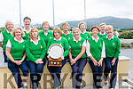 Tralee Golf Club Ladies Team<br /> Joe Quinlan Foursomes<br /> Tralee Ladies Team<br /> Front Row L-R<br /> Kay Fitzgerald, Dor O'Driscoll (Lady Captain),Angela Deenihan, (Coordinator Joe Quinlan Foursomes), Bernie Buckley (Team Manager), Monica O'Neill, Mary Barrett.<br /> Back Row L-R<br /> Nora Quinlan, Barbara Reen, Ber Collins, Jenna Leen, Joan Costello, Joan Kelly.