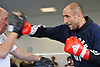 February 17-15,media workout ahead of the rematch between Arthur Abraham and Paul Smith, Berlin,GER