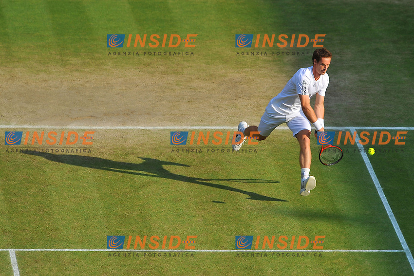 Andy Murray (GB) <br /> Londra 05/7/2013<br /> Tennis Wimbledon Grande Slam <br /> Foto Panoramic / Insidefoto<br /> ITALY ONLY