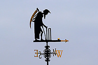 Grey skies behind Father Time during Middlesex CCC vs Essex CCC, Specsavers County Championship Division 1 Cricket at Lord's Cricket Ground on 21st April 2017