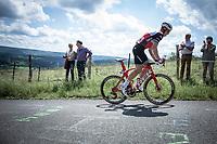 Ryan Mullen (IRL/Trek Segafredo) up the infamous  La Redoute<br /> <br /> Baloise Belgium Tour 2019<br /> Stage 4: Seraing – Seraing 151.1km<br /> ©kramon