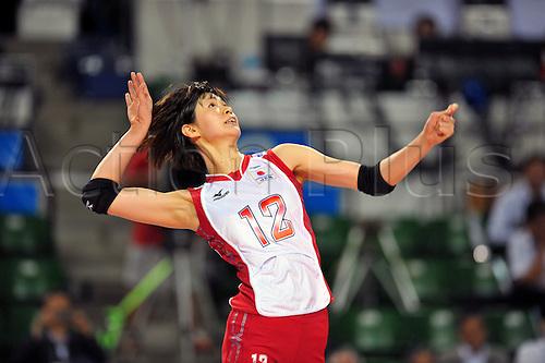 20.08.2011. Tokyo, Japan.  Saori Kimura (JPN), Volleyball : 2011 FIVB World Grand Prix Pool L,match between Japan 3-0 Korea at Ariake Colosseum, Tokyo, Japan.