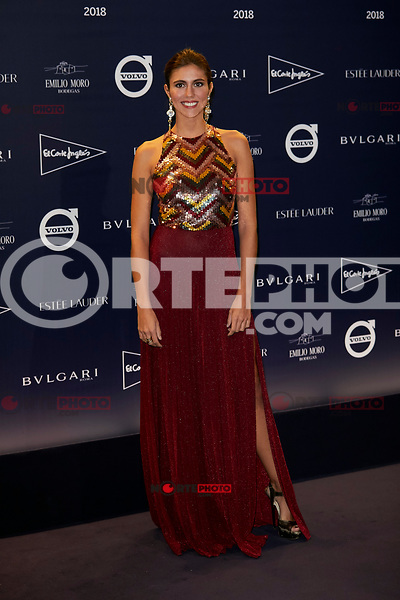 "Ana Cristina Portillo attends to  ""TELVA Tributo. Una cronica de moda. Coleccion Naty Abascal"" at Royal Academy of Fine Arts of San Fernando in Madrid, Spain. October 09, 2018. (ALTERPHOTOS/A. Perez Meca) /NortePhoto.com"