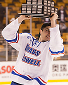 Tommy Panico (UML - 2) The University of Massachusetts-Lowell River Hawks defeated the Boston College Eagles 4-3 to win the 2017 Hockey East tournament at TD Garden on Saturday, March 18, 2017, in Boston, Massachusetts.