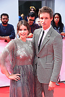 """TORONTO, ONTARIO - SEPTEMBER 08: Felicity Jones and Eddie Redmayne attend """"The Aeronauts"""" premiere during the 2019 Toronto International Film Festival at Roy Thomson Hall on September 08, 2019 in Toronto, Canada. <br /> CAP/MPIIS<br /> ©MPIIS/Capital Pictures"""