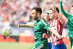 Atletico de Madrid's Saul Niguez and Real Betis's Molinero during BBVA La Liga match. April 02,2016. (ALTERPHOTOS/Borja B.Hojas)