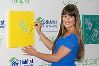 NEW YORK - JULY 20:  Actress Lea Michele attends the Valspar Hands For Habitat unveiling at Hearst Tower on July 20, 2012 in New York City. (Photo by MPI81/MediaPunchInc) /*NORTEPHOTO.com* **SOLO*VENTA*EN*MEXICO** **CREDITO*OBLIGATORIO** *No*Venta*A*Terceros* *No*Sale*So*third* ***No*Se*Permite*Hacer Archivo***No*Sale*So*third*©Imagenes*