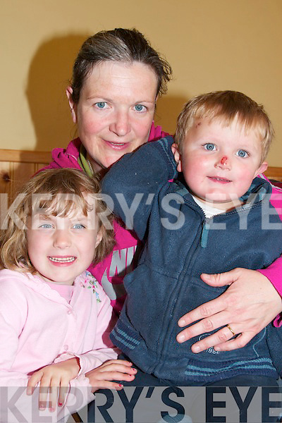 7. PICTURES 5526-5528..David .Faith and Nora Peskett from Castleisland were at the Puppets and poets day for children at writers week in Listowel on Saturday