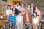 Teresa Murphy, Beaufort, pictured with her husband Frank, children Ronan and Rachel, John and Marie O'Flynn, Collette and Tom Newman, Brendan and Irene O'Loughlin and  Helena O'Callaghan as she celebrated her 50th birthday in Beaufort Bar on Friday night.