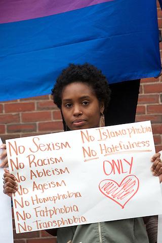 Vigil for Orlando at City Hall Plaza Boston, Massachusetts 6.13.16