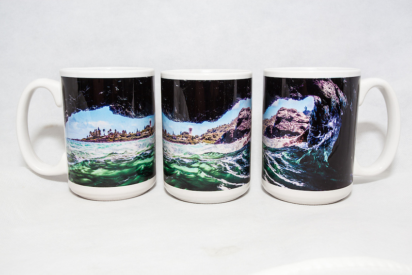15 oz. Mug   - Waimea Bay Cave - $25 + $6 shipping.<br /> Contact me to order.